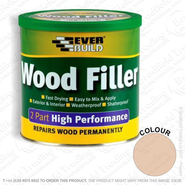 G15) 2Part Wood Filler Oak EVERBUILD