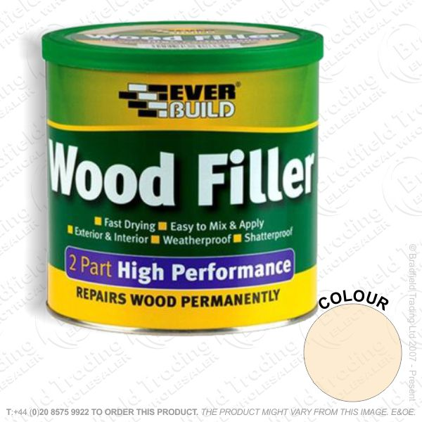 G15) 2Part Wood Filler Pine EVERBUILD