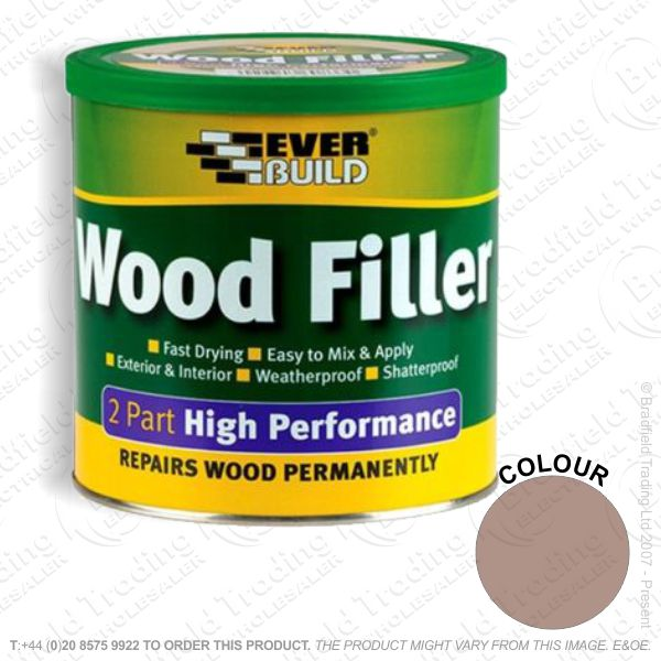 G15) 2Part Wood Filler Redwood EVERBUILD