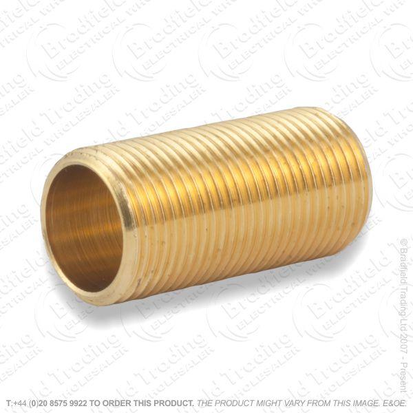 B03) All Thread Brass Tube .5  -x 1  LILLEY