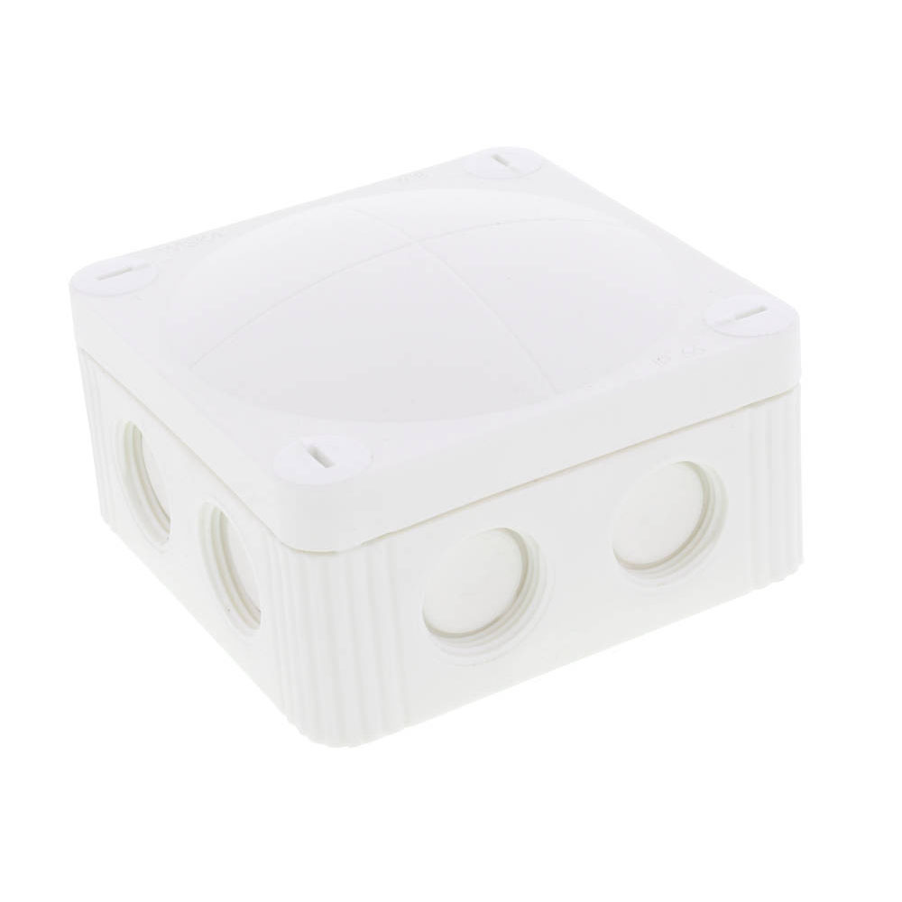 Junction Box 32A 85x85x51 White WISKA