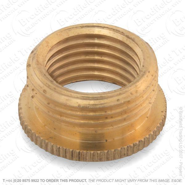 B03) Reducer .5  - 10mm brass LIL