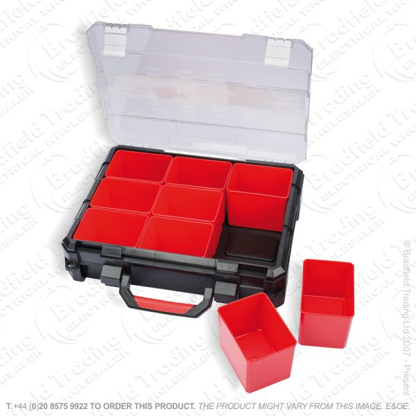 G50) 9 Part Heavy Duty Organizer Draper
