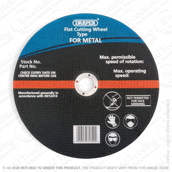 G31) Metal Cutting Disc 230x3mm DRA