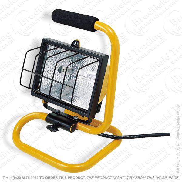 B21) Flood Light Halogen Portable 500W 240v