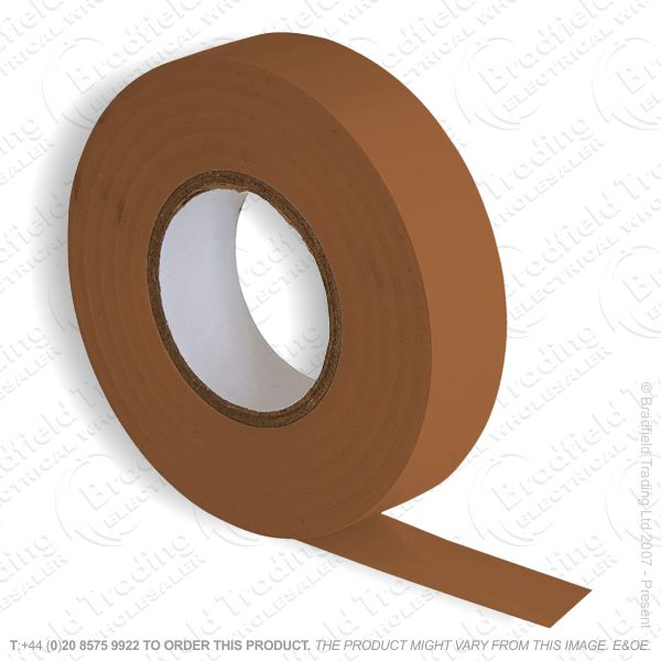 G02) Tape Insulation 33M PVC brown (Single)