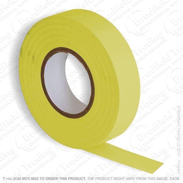 G02) Tape Insulation 33M PVC yellow (Single)