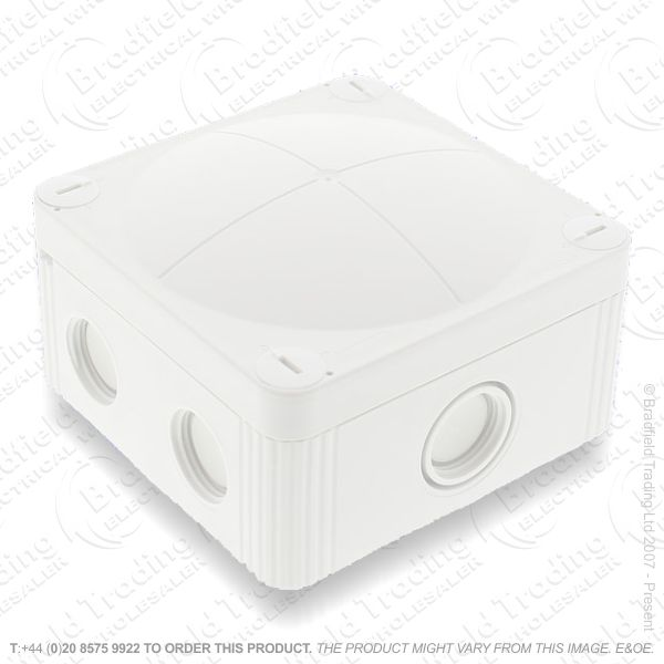 24A Junction Box 95x95x60 White WISKA