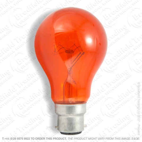 GLS Fireglow BC Bulb 40W EVEREADY