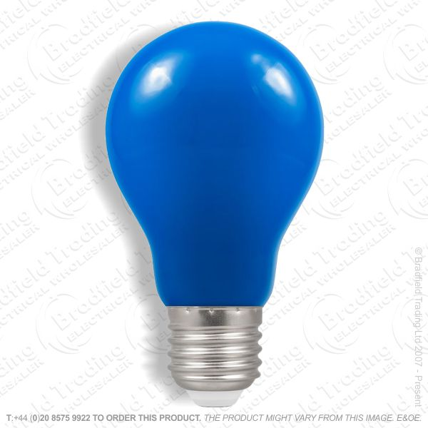 A23) LED GLS 1.5W ES Blue Colour CROMTON