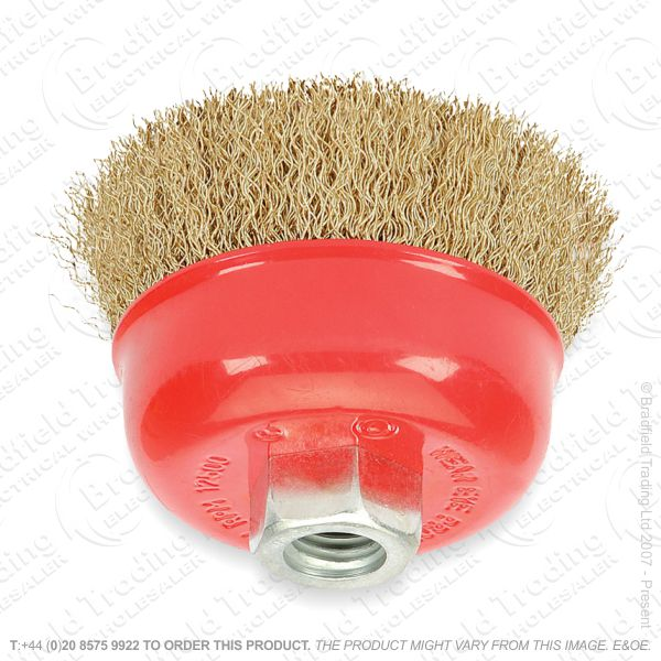 G30) Crimped Wire Brush for Grinder 80mm DRA
