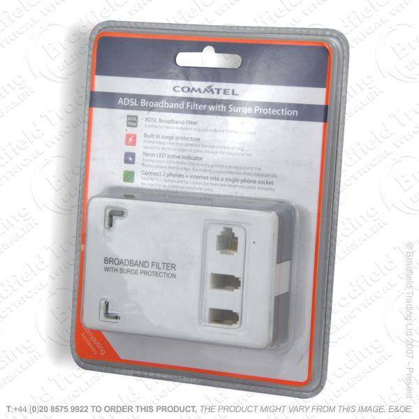 E16) Telephone Filter Adaptor Surg Broadband