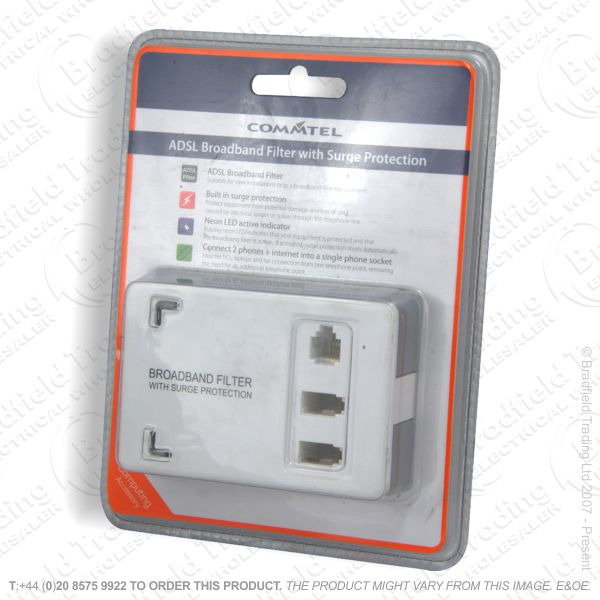 E16) Telephone Filter Adaptor Surg Modem