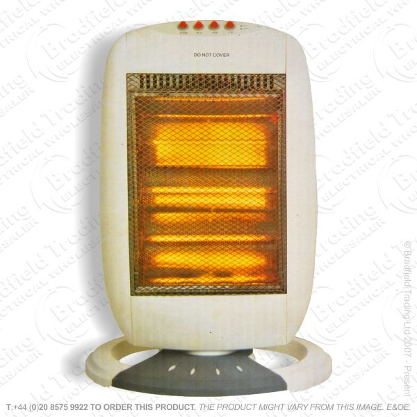 D03) Heater Halogen 1.6Kw Rotating 4bar