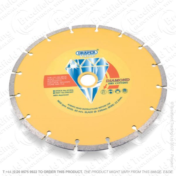 G31) 230mm Diamond Grinder Blade
