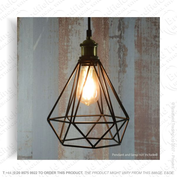 B09) Cage Lamp Shade LYYT