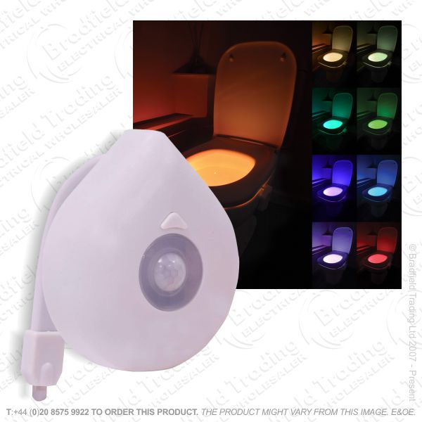 LED Sensor Toilet Night Light