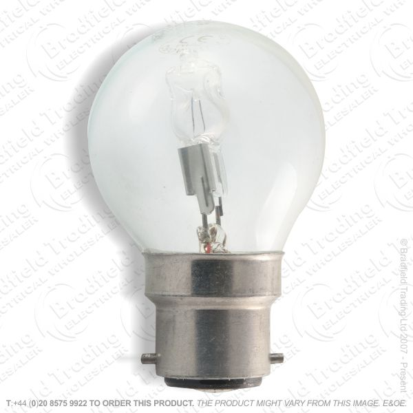 A12) Golf Halogen BC Clear 42W (55w) Lamp