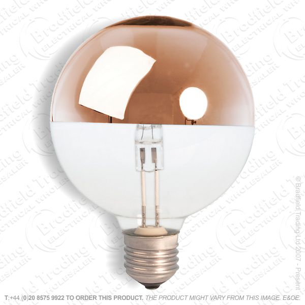 A13) Decor Globe 95mm ES 42W CROWN Bronze