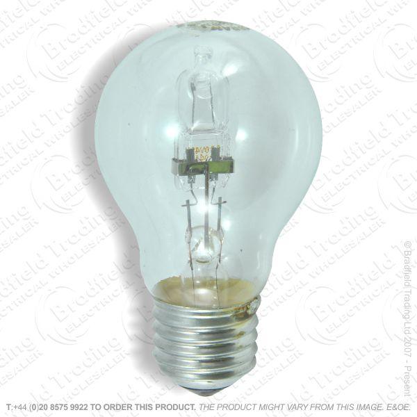A12) GLS Halogen ES clear 42W Bulb