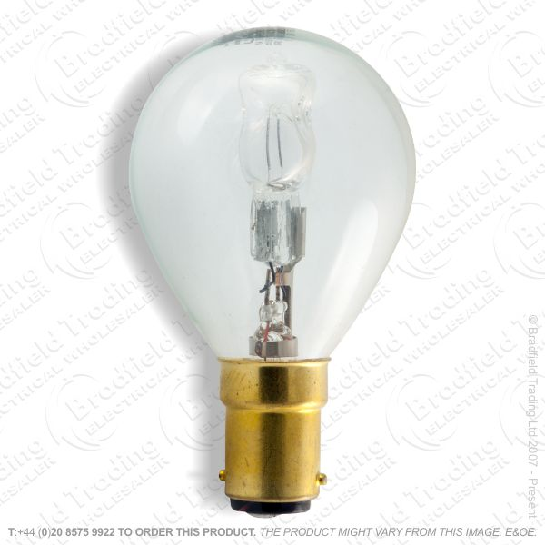 A12) Golf Halogen SBC Clear 42W (55w) Lamp