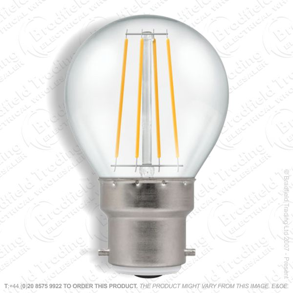 A31) LED BC 5w Golf 2700k Filament CROMTON