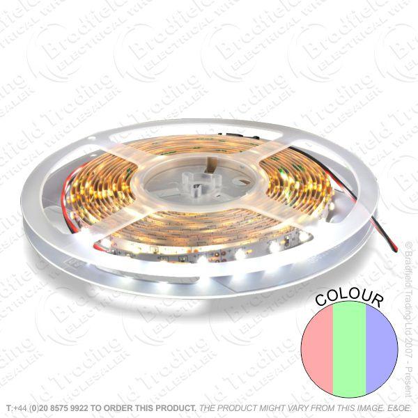 D13) LED Flex 5M RGB Colour 14.4w/m IP33