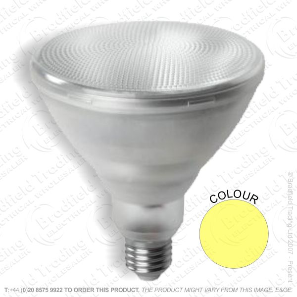 A36) LED PAR38 12W ES Yellow CROMPTON