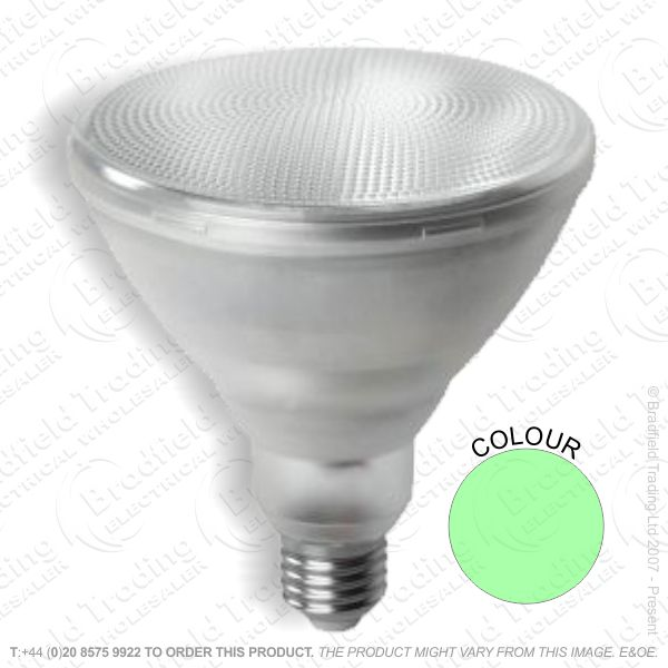 A36) LED PAR38 12W ES Green CROMPTON