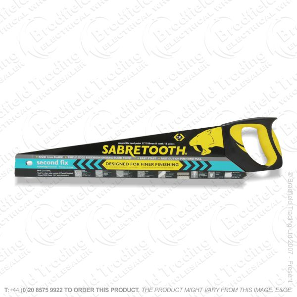 G45) Sabretooth Hand Saw 2st Fix 22  11T