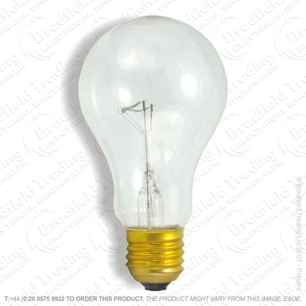 A02) GLS GES clear 500W Bulb