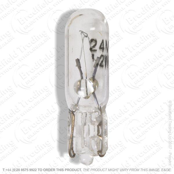 A89) Car Capsule Lamp 12V 5W Wedge Base