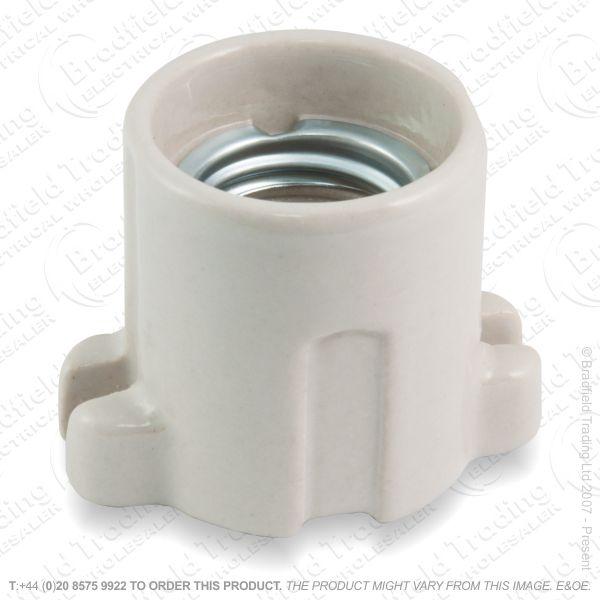 B05) Lamp Holder Porcelain ES LIL