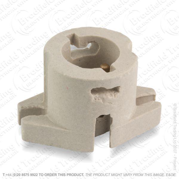 B05) Lamp Holder Porcelain BC LIL