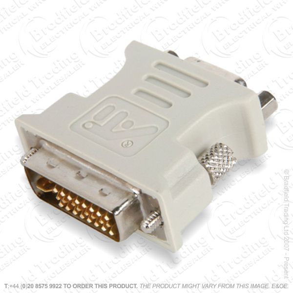 E29) DVI-I Plug to VGA Socket Adaptor