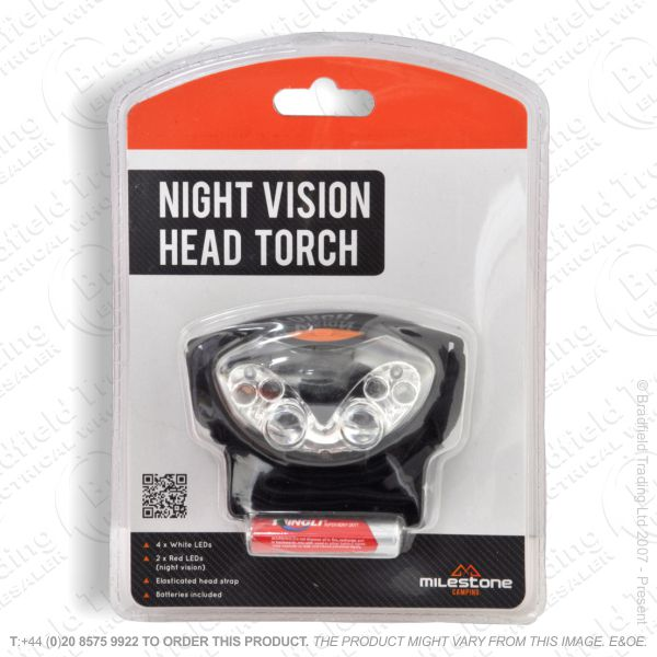 E43) Headlamp LED 2in1 Night Visible