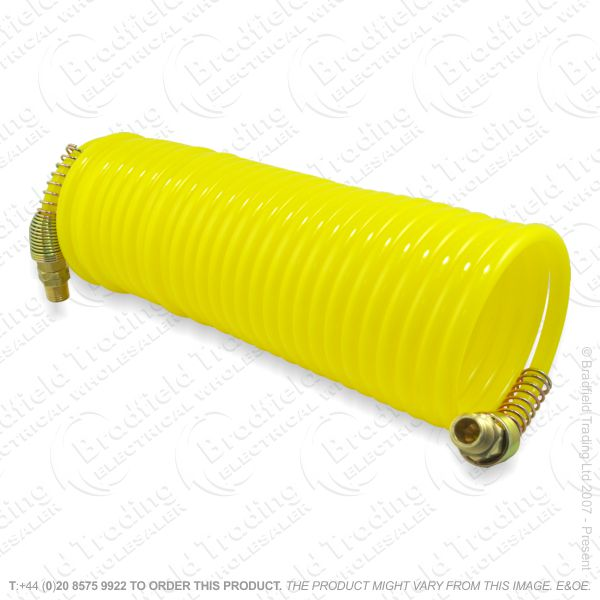 G55) Recoil air hose 25ft 0.25  Yellow DRAPER