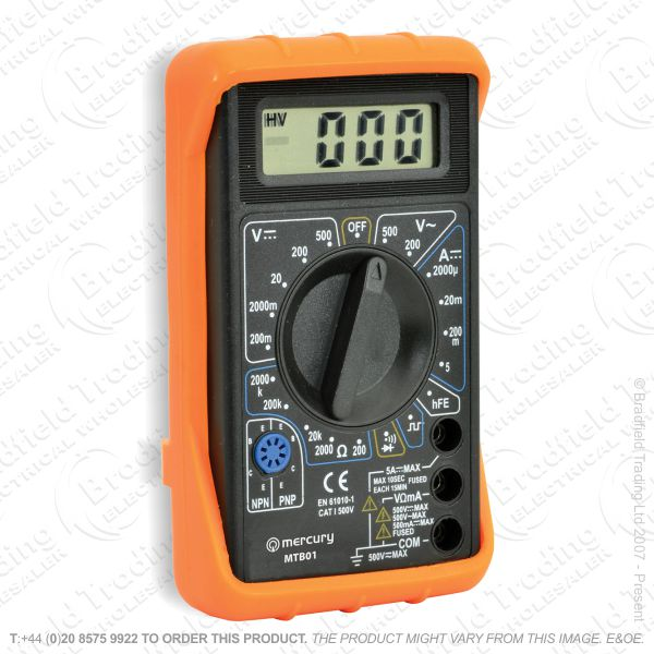 G53) Multimeter Digital Tester 8 Function