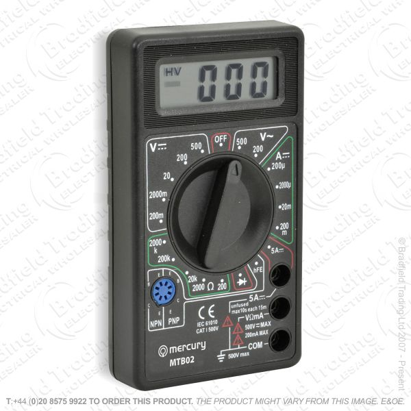 G53) Multimeter Digital Tester 6 Function