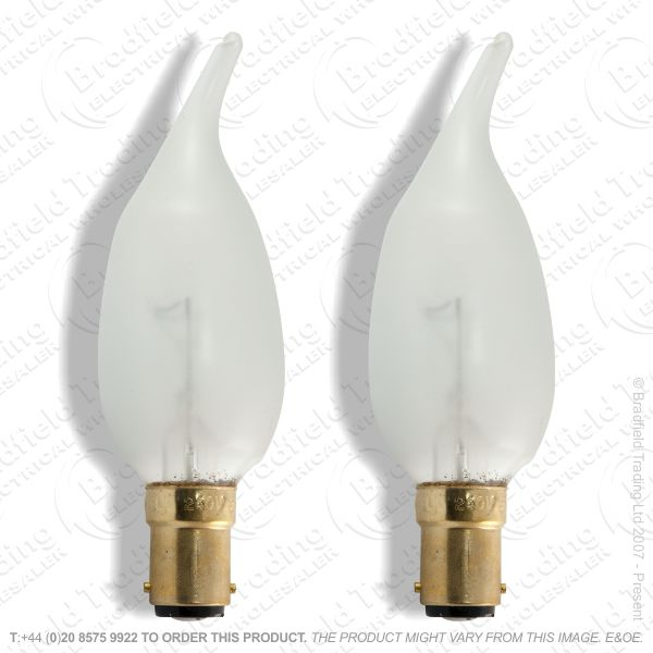 A06) Candles Candlelux SBC satin 60W ECO