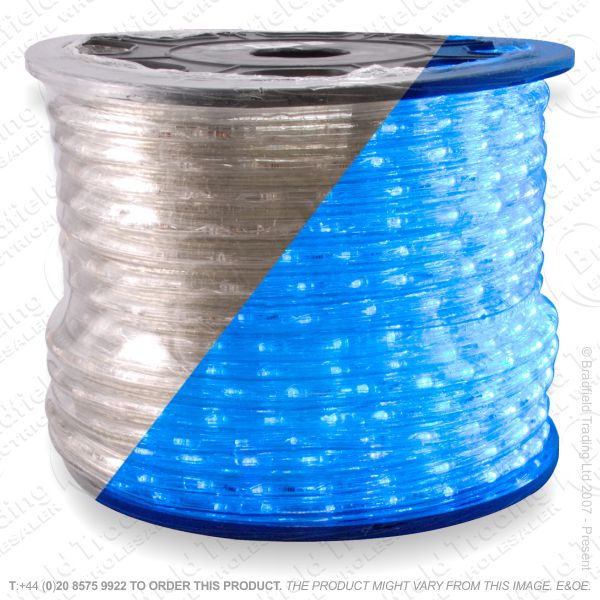 D14) Ropelight LED Flex Static blue 1 Meter