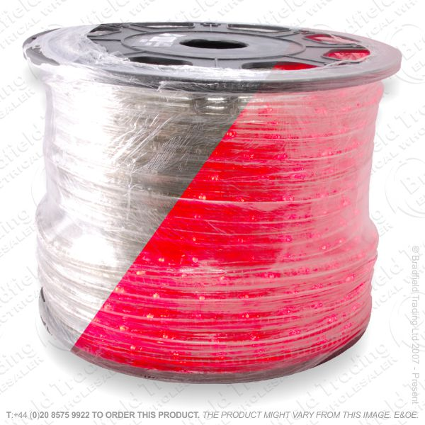 D14) Ropelight LED Flex Static Red 1 Meter