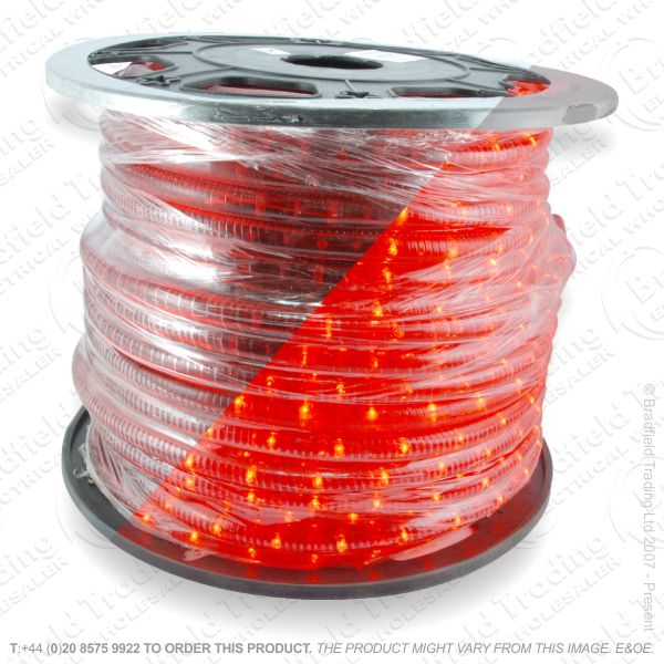 D14) Ropelight Flex Static Red 1 Meter