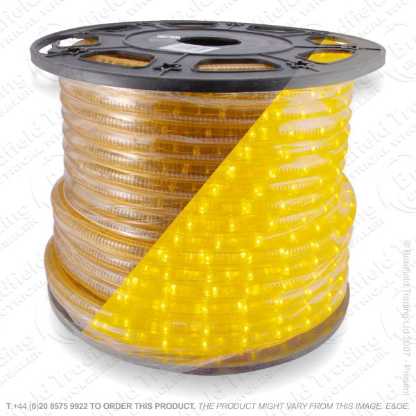 D14) Ropelight Flex Static yellow 1 Meter