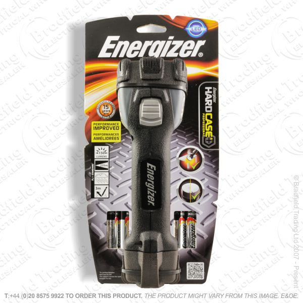 E41) Hard Case Torch 4AA LED ENER