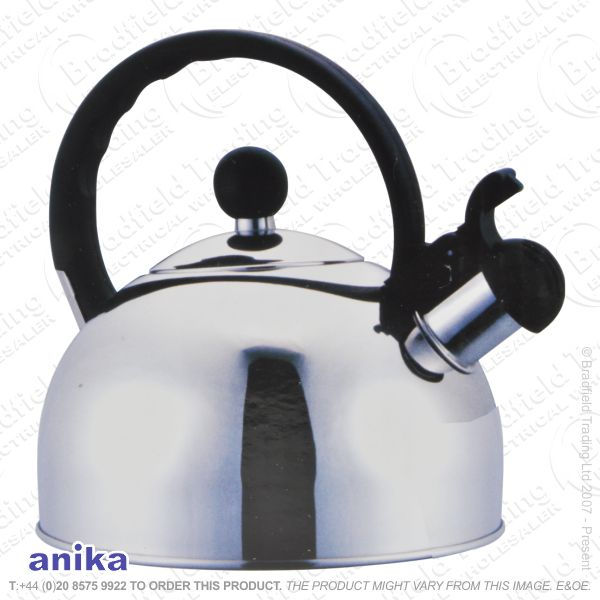 C03) Wistling Gas Hob Kettle 2.5l ANIKA