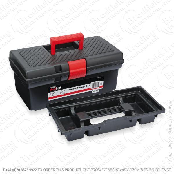 G50) Tool Box 16  Storage Red Line DRAPER