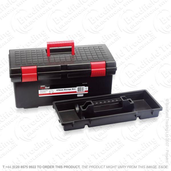G50) Tool Box 20  Storage Red Line DRAPER