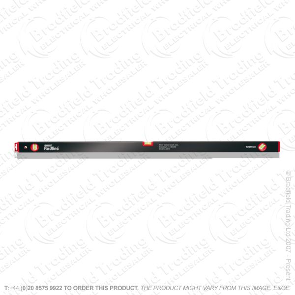 G51) 1200mm Box Section Level DRAPER Red Line