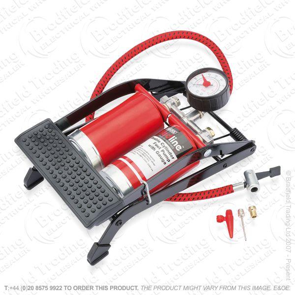 G54) Double Cylinder Foot Pump DRAPER RL